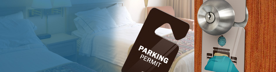 Door Hangers & Parking permit